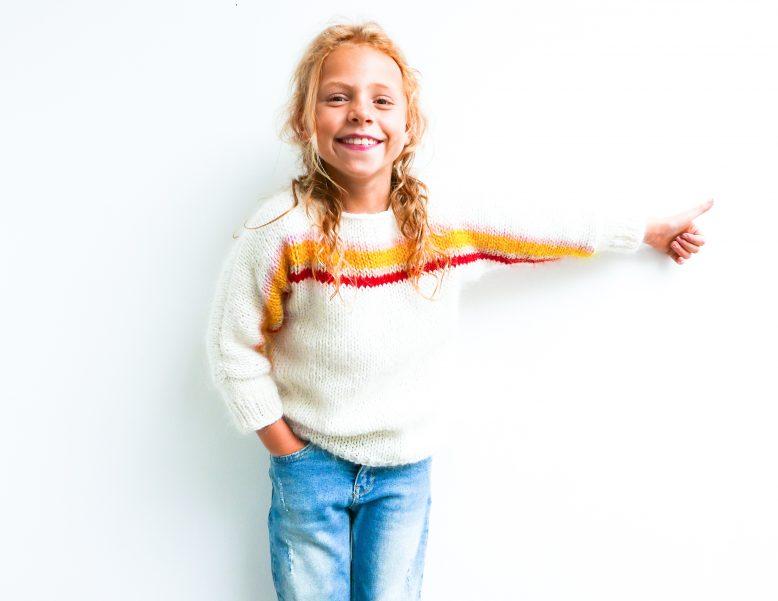 Mini TARA sweater van *FibreMood*